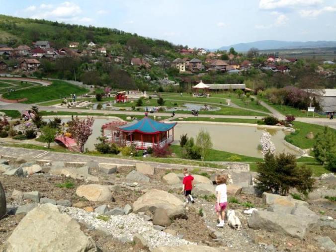 Gradina botanica - Jibou view