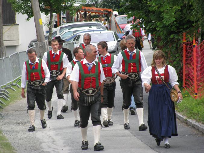 Innsbruck - traditional outfit