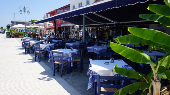 Katakolon - port restaurants