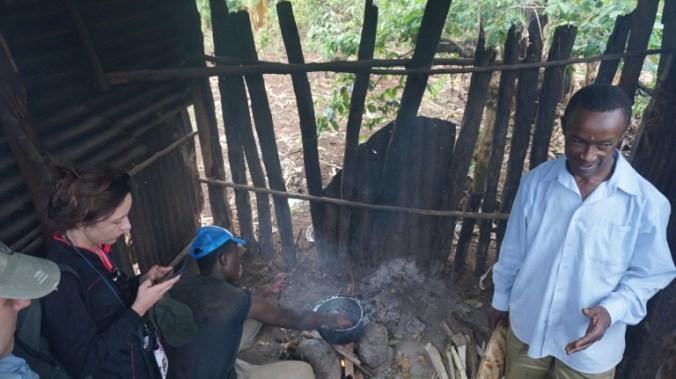 Kilimanjaro - roasting coffee