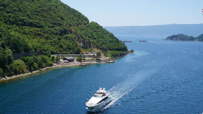 Kotor - boat
