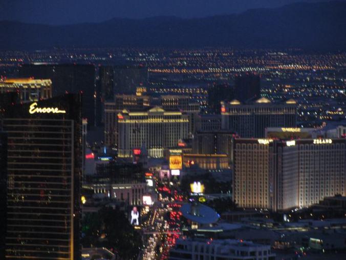 Las Vegas - Strip by night