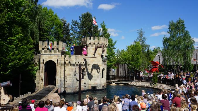 Legoland Danemarca - park attraction show