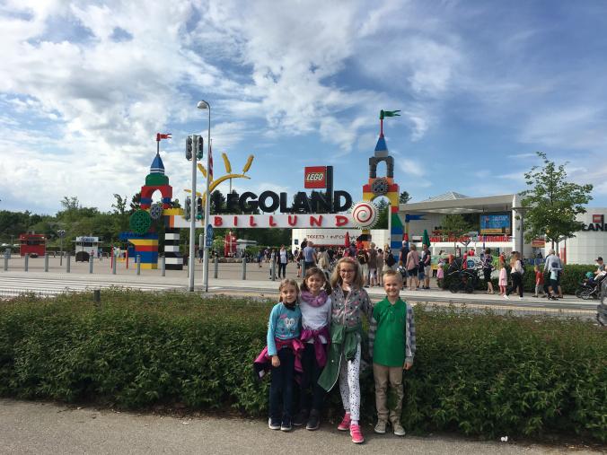 Legoland Danemarca - park entrance
