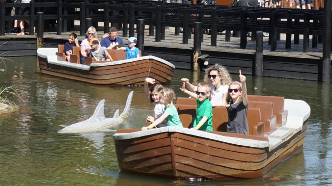 Legoland Danemarca - park shark