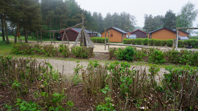 Legoland Danemarca - village houses