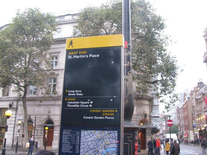 Londra - sign