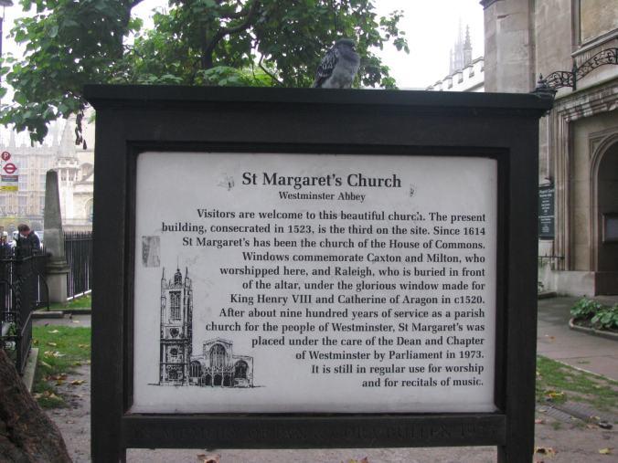 Londra - st margaret church