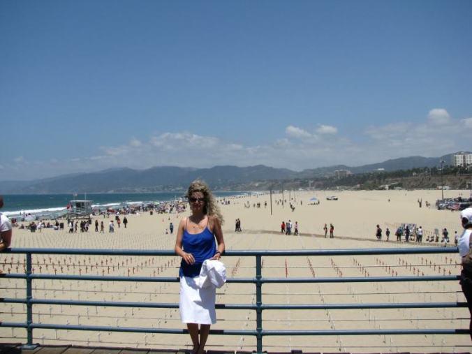 Los Angeles - santa monica beach1
