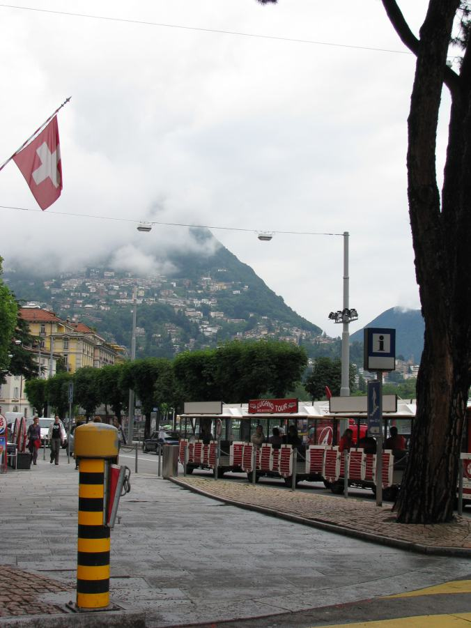 Lugano - touristic train