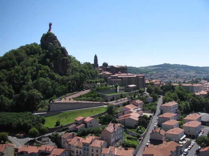 Lyon - puy en velay view
