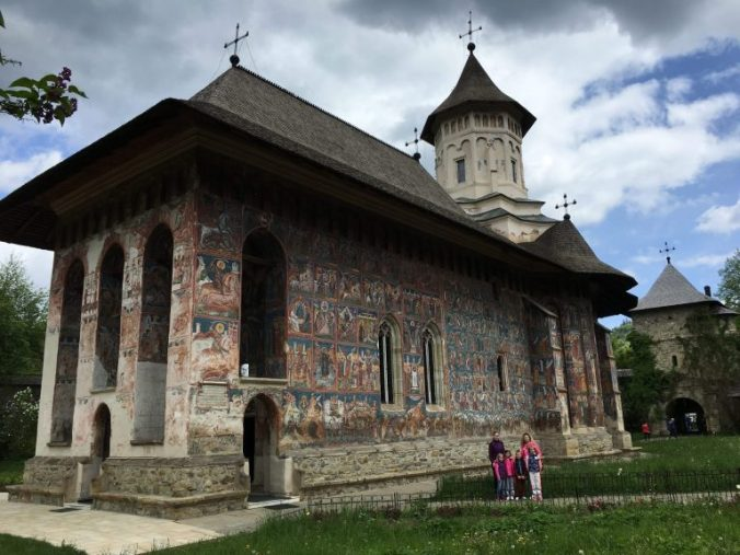 Manastirile din Moldova - moldovita
