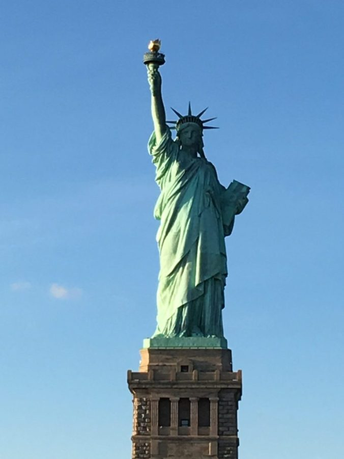 Manhattan - statue of liberty closeup