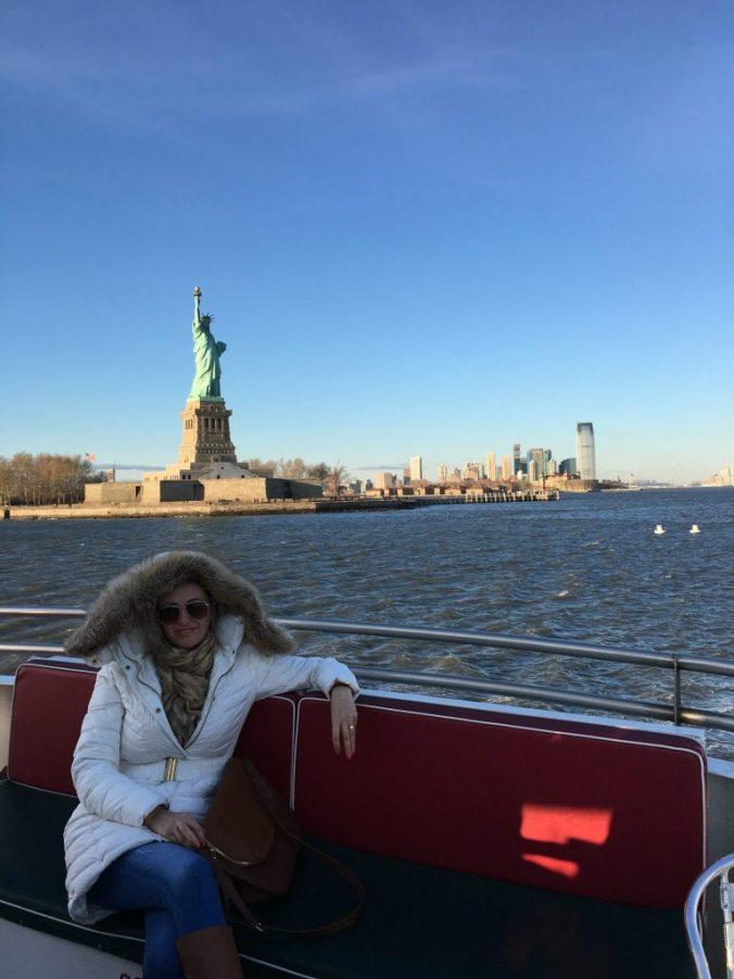 Manhattan - statue of liberty