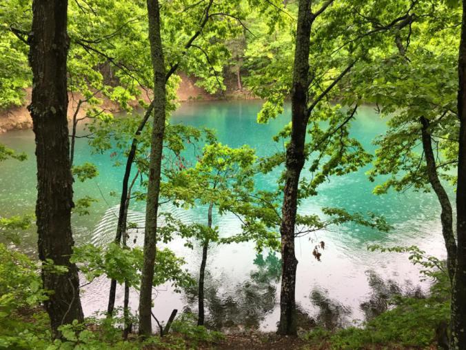 Maramures - blue lake view
