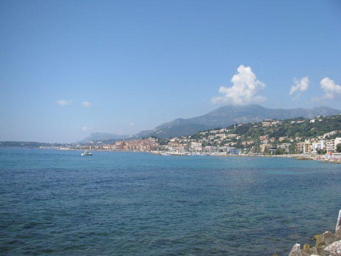 Monaco - menton view