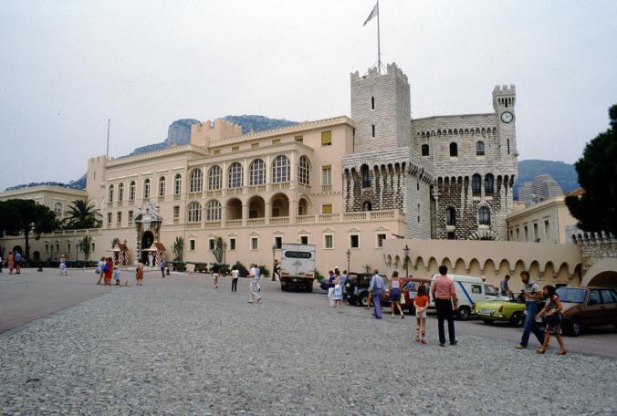 Monaco - palace
