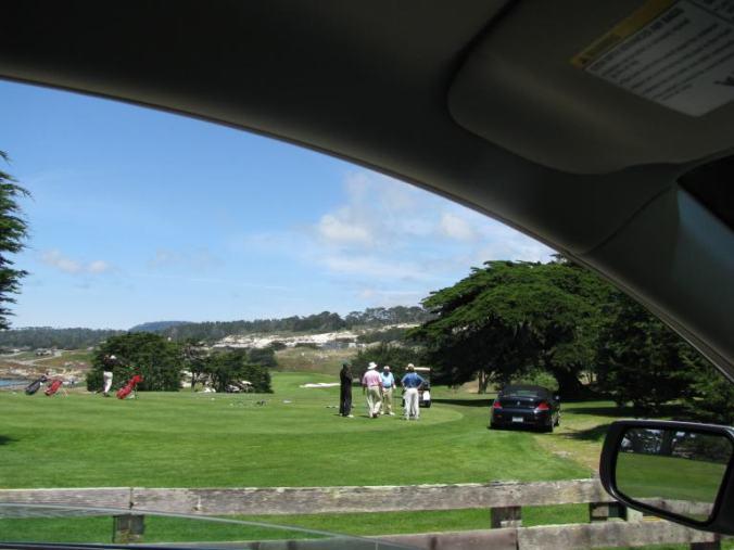 Monterey - 17 mile drive golf