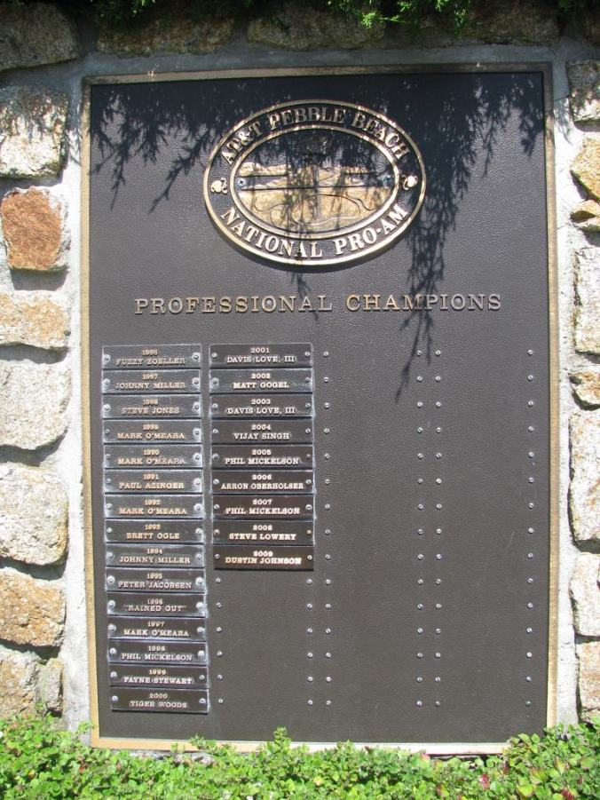 Monterey - 17 mile drive golfing