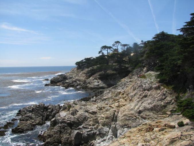 Monterey - 17 mile drive ocean