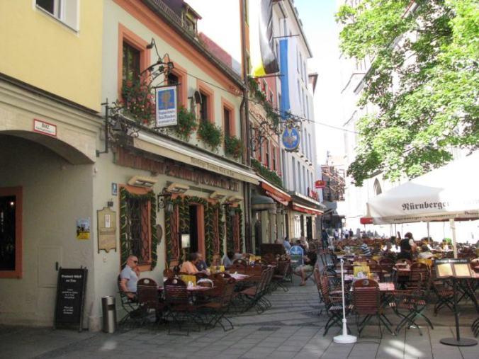Munchen - marienplatz restaurants