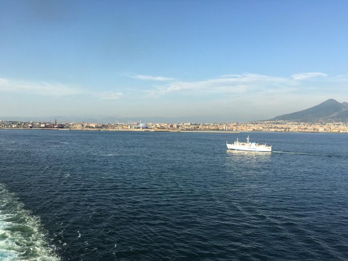 Napoli - departure