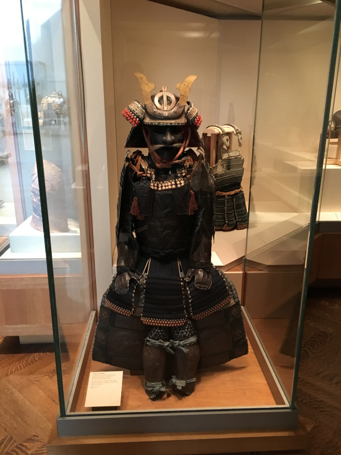 New York MET - samurai