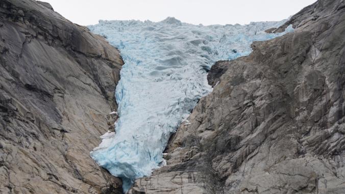 Norvegia - briksdal glacier 1