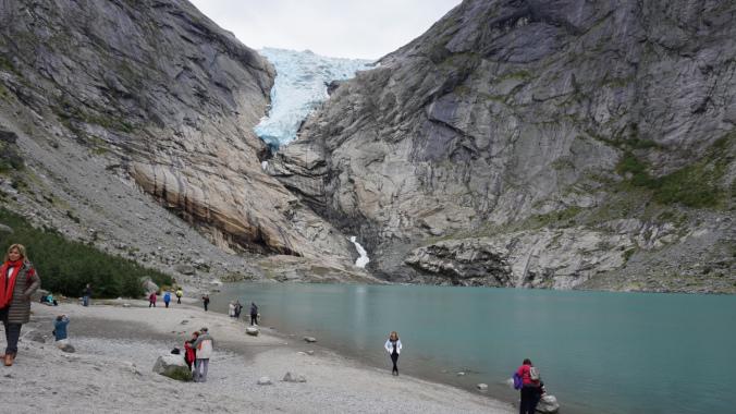 Norvegia - briksdal glacier