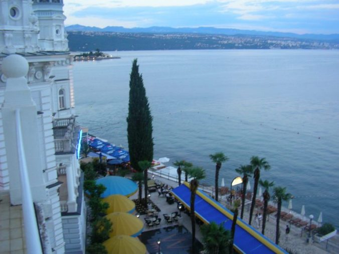Opatija - hotel room view