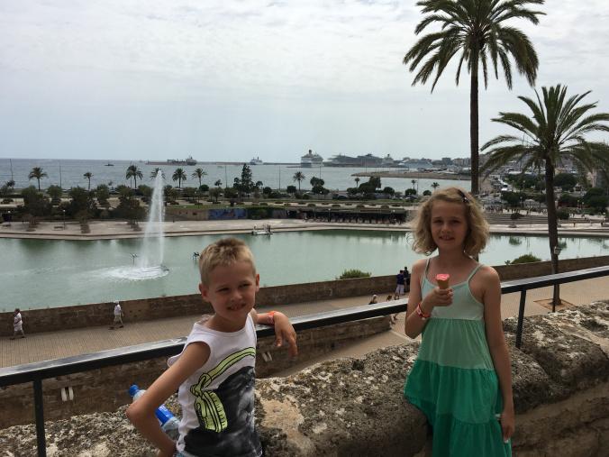 Palma de Mallorca - port view