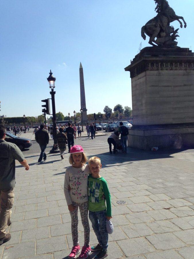 Paris - obeliscul egiptean