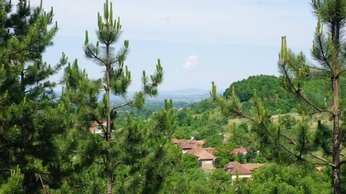 Pestera Ursilor si Scarisoara - panoramic area view