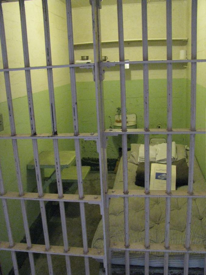 San Francisco - alcatraz cell