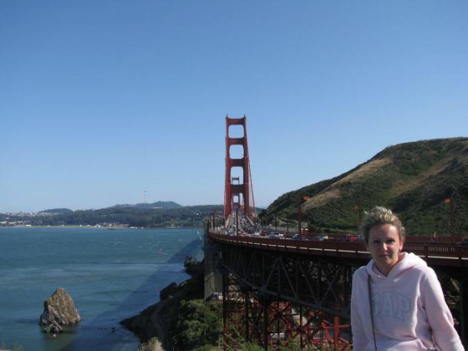 San Francisco - golden gate view