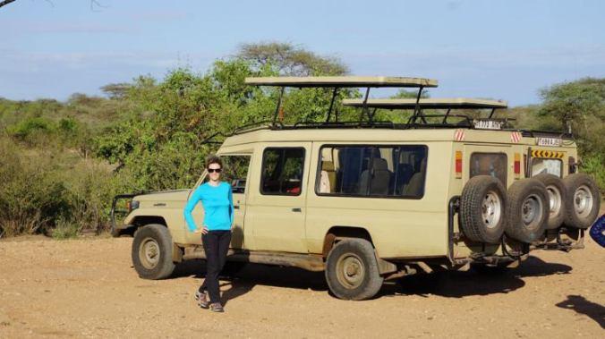 Serengeti - safari cars