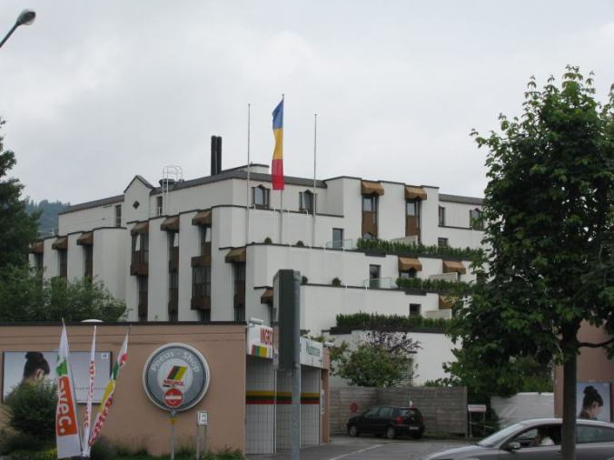 St. Gallen - Romanian team hotel