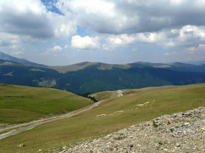Transalpina - clouds