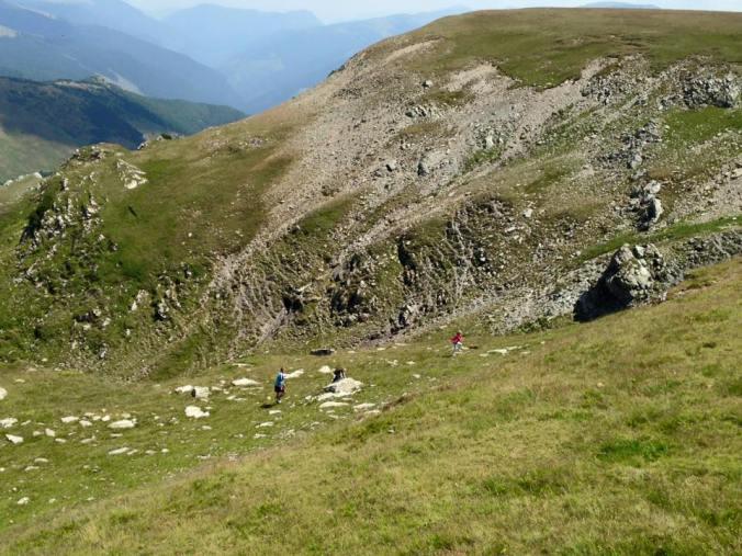Transalpina - hills