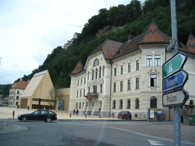 Vaduz Liechtenstein - downtown