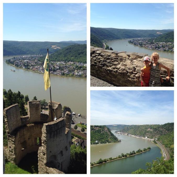 Valea Rinului - marksburg castle rhin view