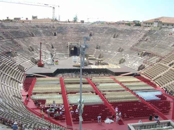 Verona - arena inside