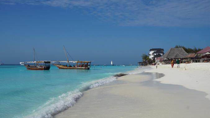 Zanzibar Tanzania - nungwi boats