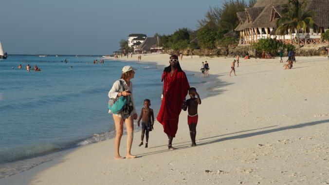 Zanzibar Tanzania - nungwi masai