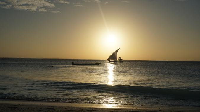 Zanzibar Tanzania - nungwi sunset3