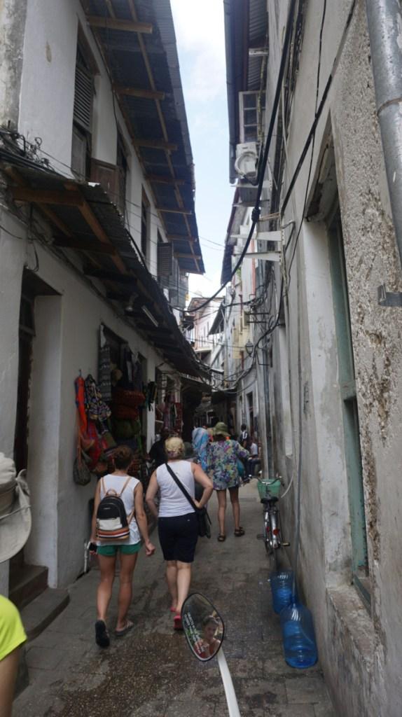 Zanzibar - stone town street