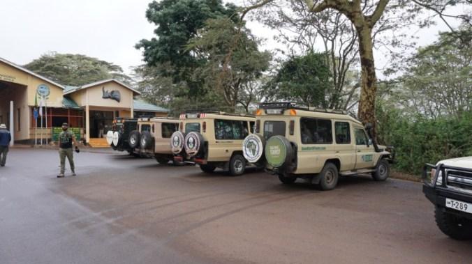 ngorongoro - entrance