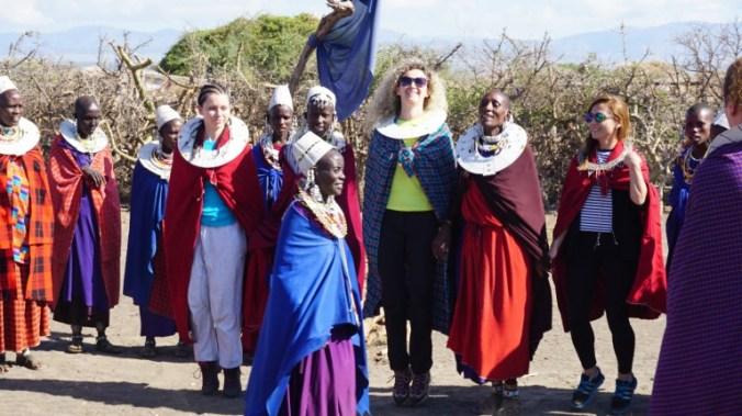 ngorongoro - masai dance