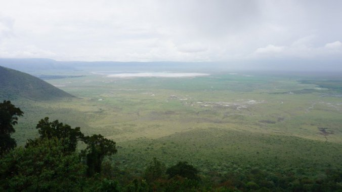 ngorongoro - panoramic view