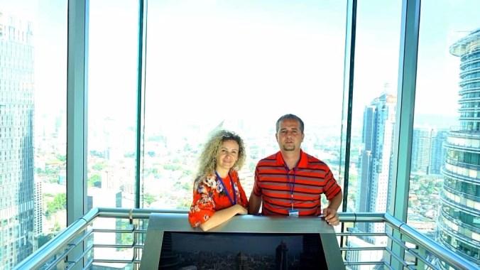 Kuala Lumpur - petronas towers floor 42